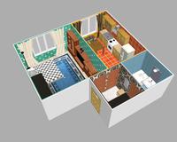 1-комнатная квартира 41.39 кв. м